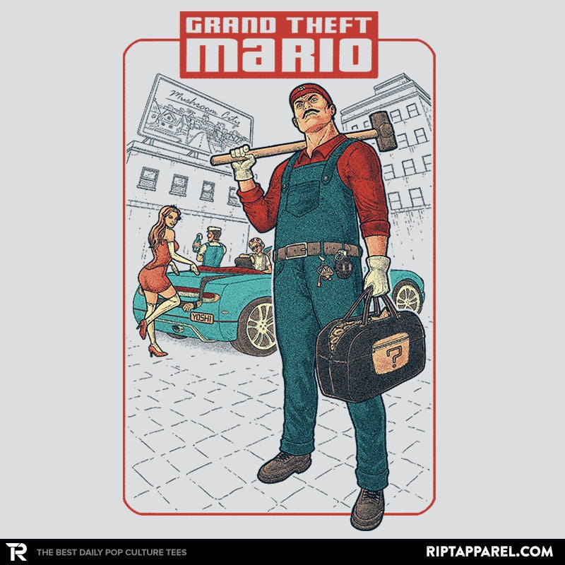 Grand Theft Mario: Mushroom City - Collection Image - RIPT Apparel
