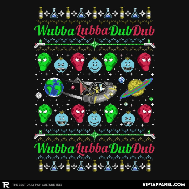 Wubba Lubba - Ugly Holiday - RIPT Apparel