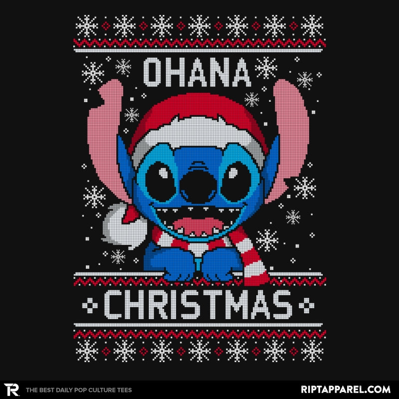 Ohana Christmas - Ugly Holiday - RIPT Apparel