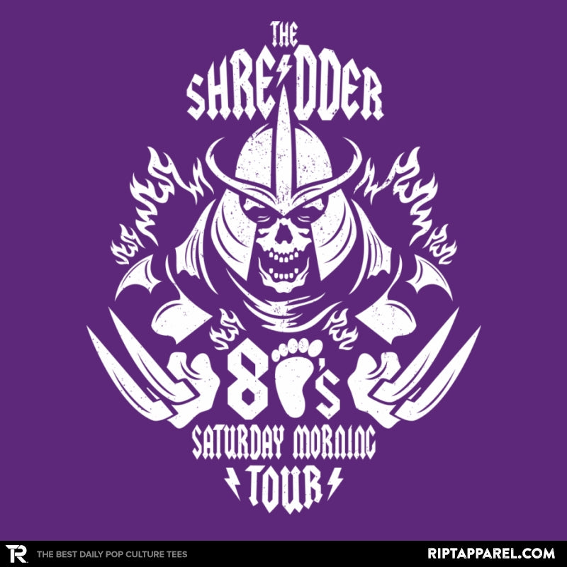 The Shredder 80's Tour - Collection Image - RIPT Apparel