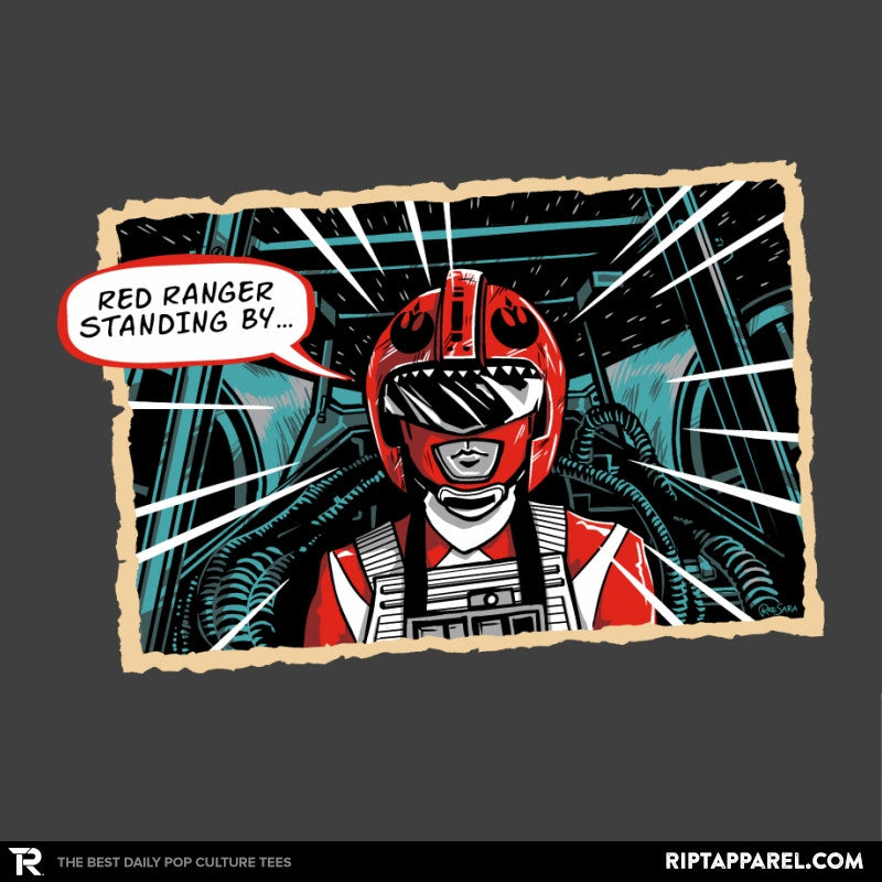 Red Ranger Standing By Exclusive - RIPT Apparel