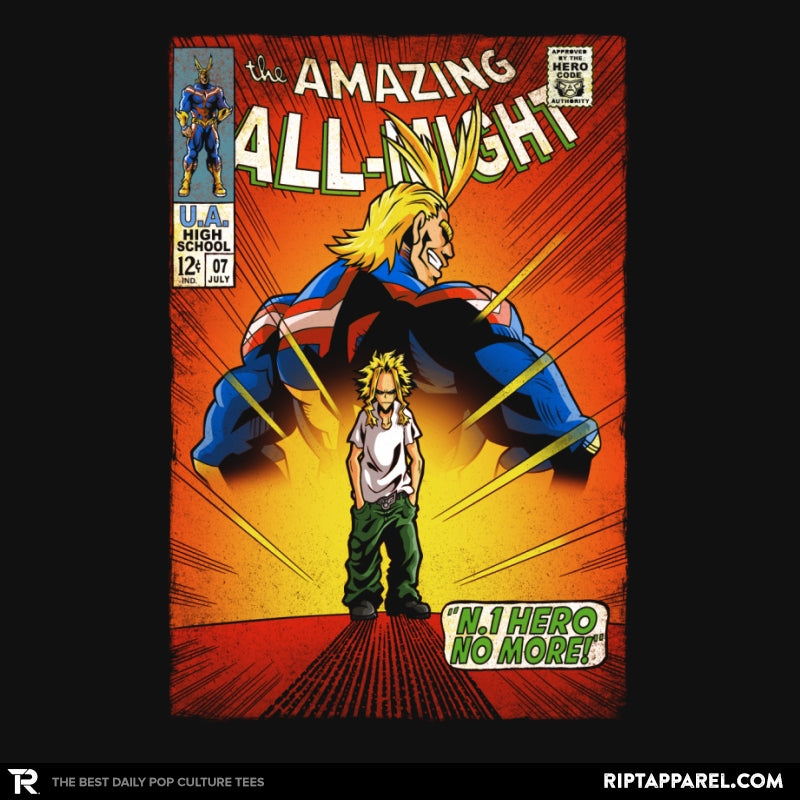 The Amazing All Might - Best Seller - Collection Image - RIPT Apparel