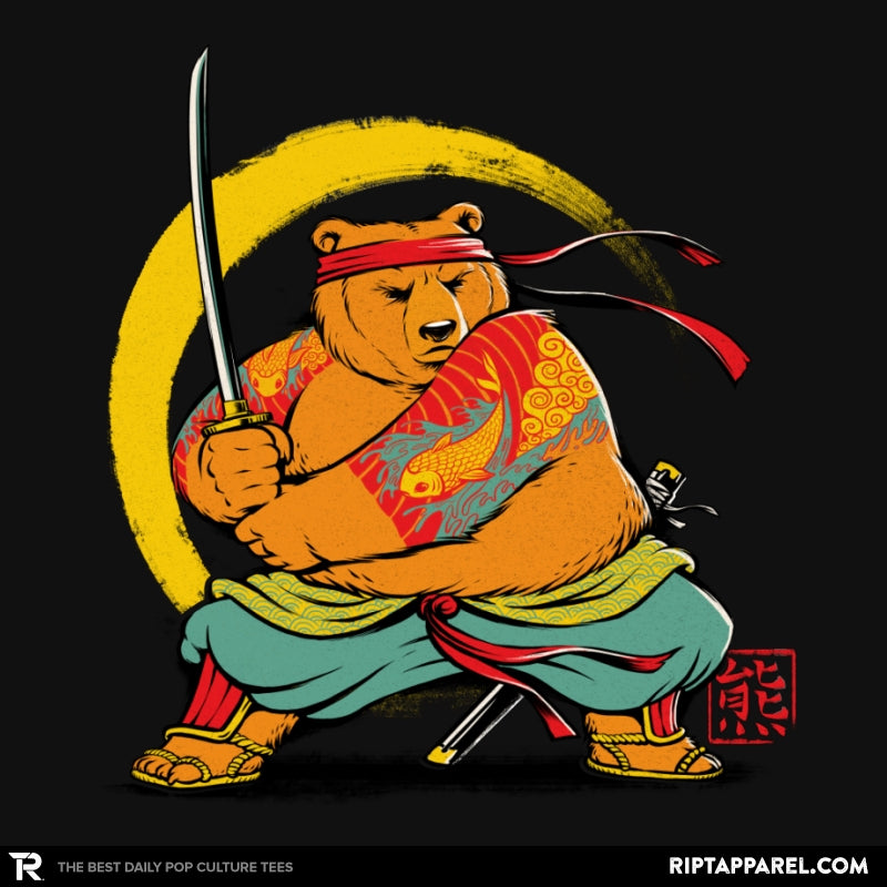Yakuza Bear Samurai - Collection Image - RIPT Apparel