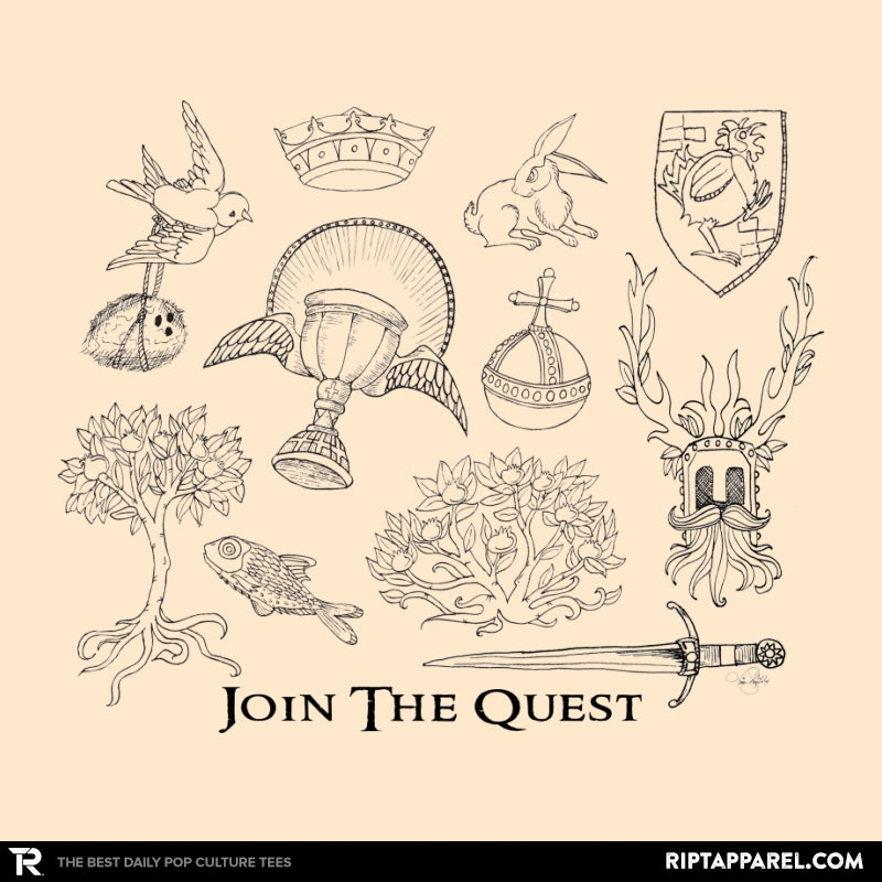 The Quest For The Grail - RIPT Apparel