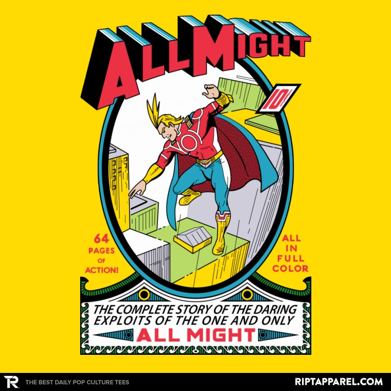 All Might No. 1 - RIPT Apparel