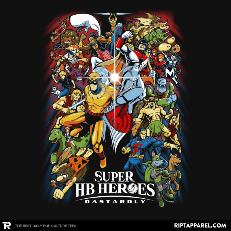 Super HB Heroes - Collection Image - RIPT Apparel