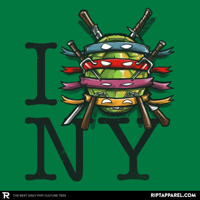 I (Turtle) NY - Art attack - Collection Image - RIPT Apparel