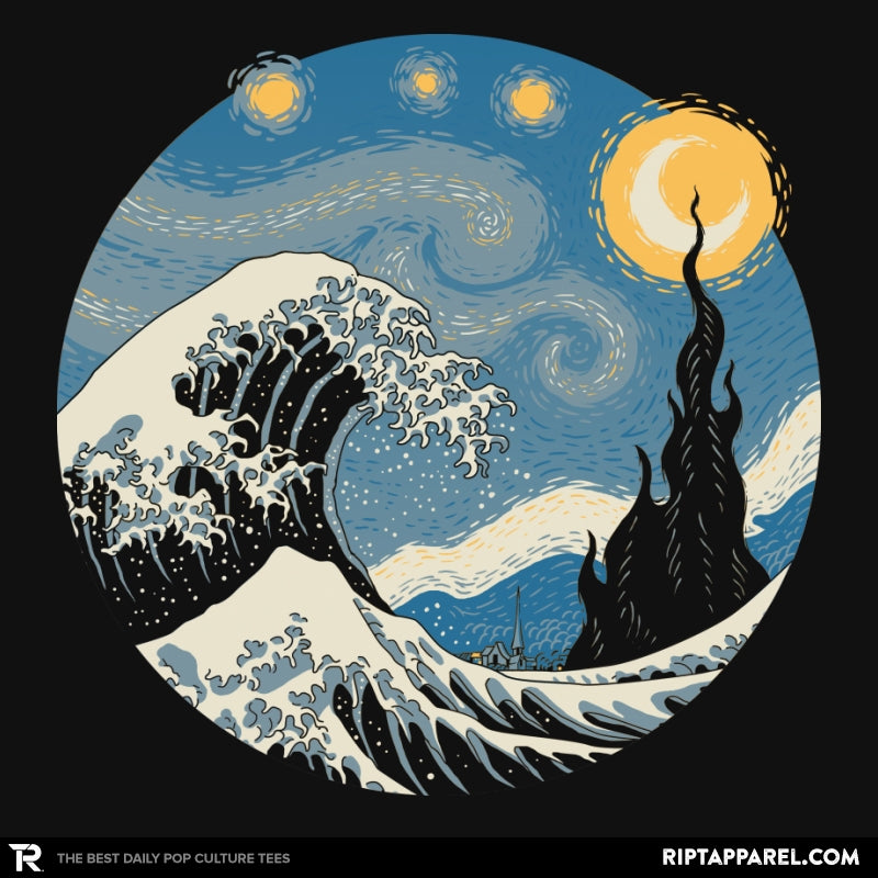 The Great Starry Wave - Collection Image - RIPT Apparel