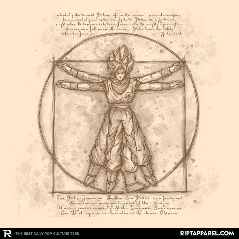 Vitruvian Saiyan - Collection Image - RIPT Apparel