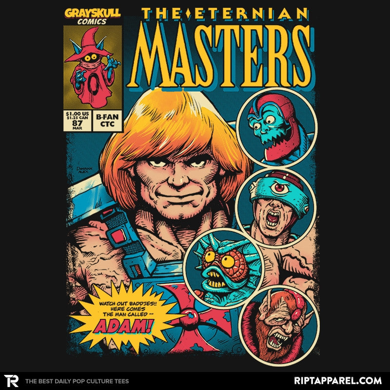 The Eternian Masters - Collection Image - RIPT Apparel