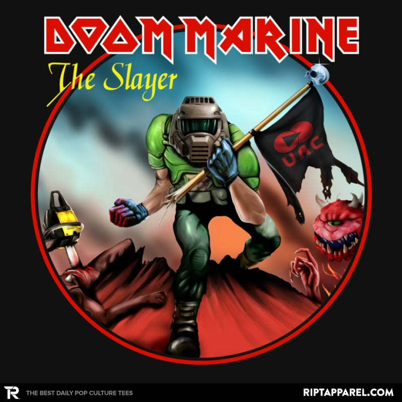 Doom Marine Cover - Collection Image - RIPT Apparel