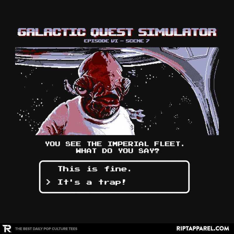 Galactic Quest Simulator - Collection Image - RIPT Apparel