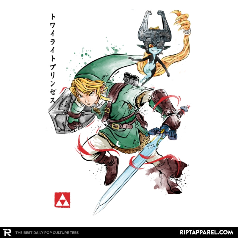 Twilight Princess Watercolor - Collection Image - RIPT Apparel