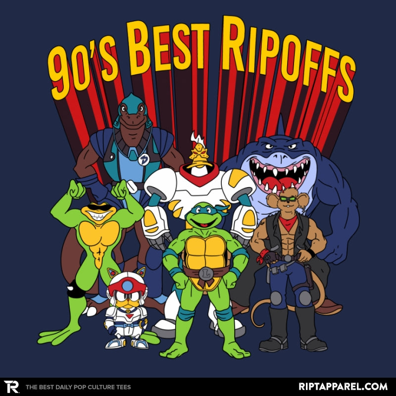 90´s Best Ripoffs - Collection Image - RIPT Apparel