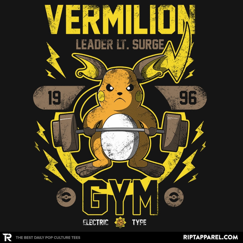 Vermilion Gym - New Year's Evolutions - RIPT Apparel