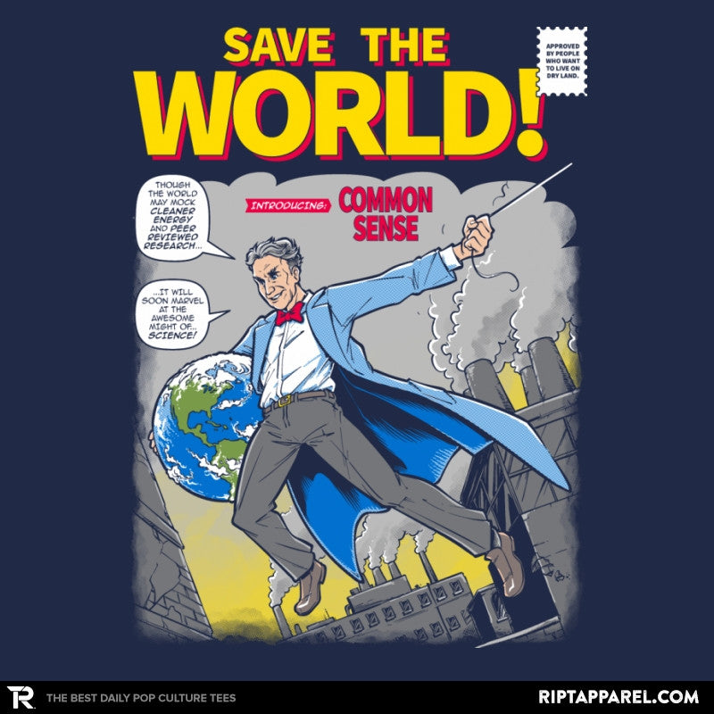Save the World! Exclusive - Collection Image - RIPT Apparel