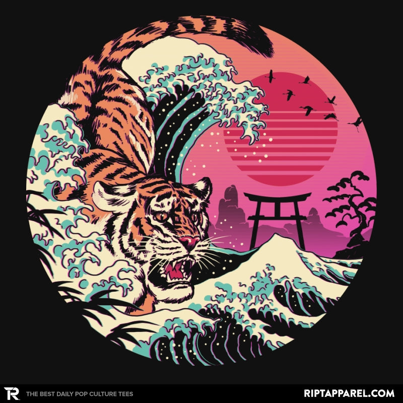 Rad Tiger Wave - RIPT Apparel