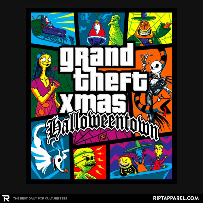 Grand Theft Xmas: Halloweentown - Collection Image - RIPT Apparel