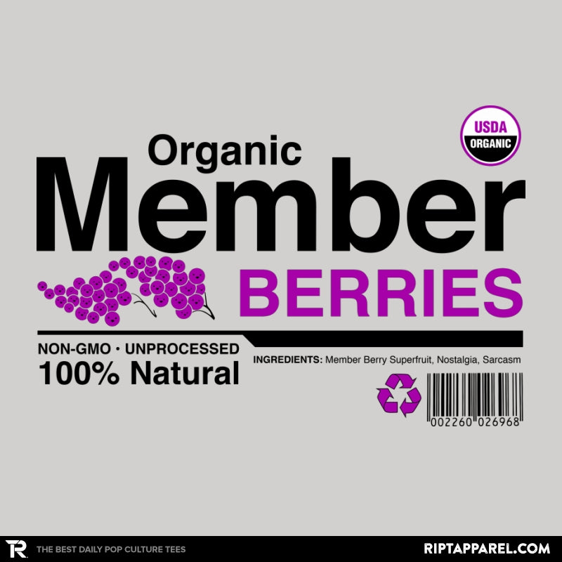 Organic Member Berries - RIPT Apparel