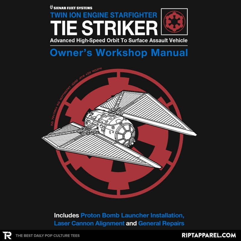 Striker Manual - Collection Image - RIPT Apparel