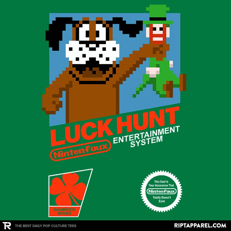 Luck Hunt Exclusive - St Paddys Day - Collection Image - RIPT Apparel