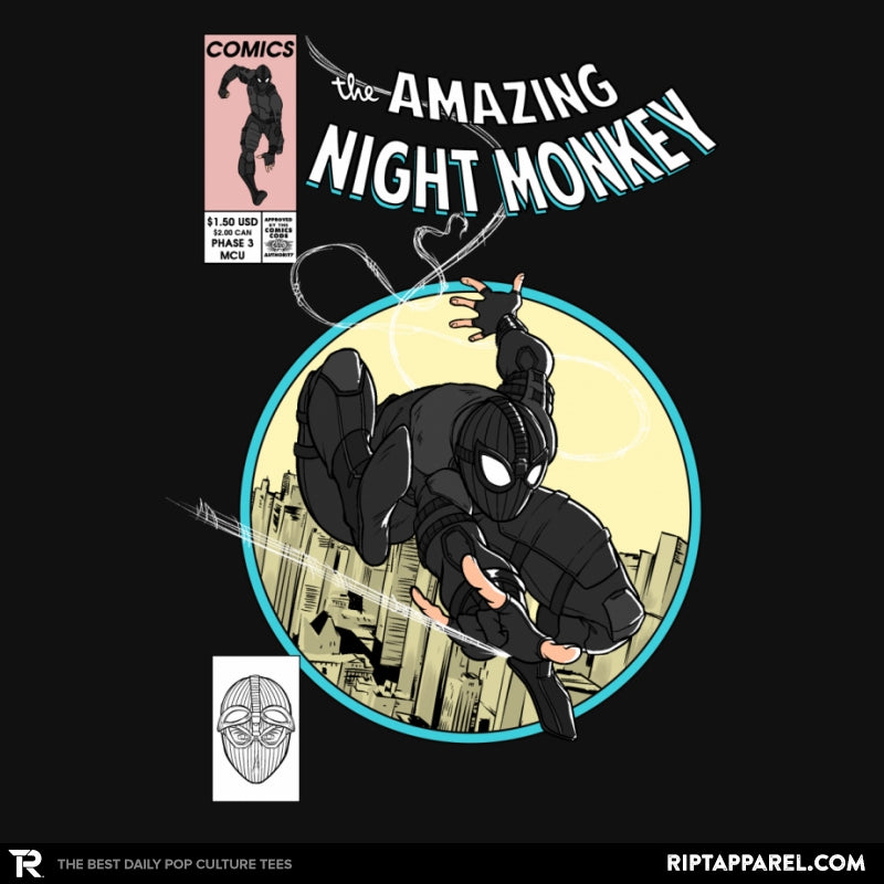 The Amazing Night Monkey - Anytime - Collection Image - RIPT Apparel