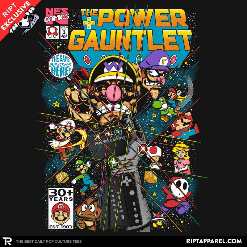 The Power Gauntlet Exclusive - Collection Image - RIPT Apparel