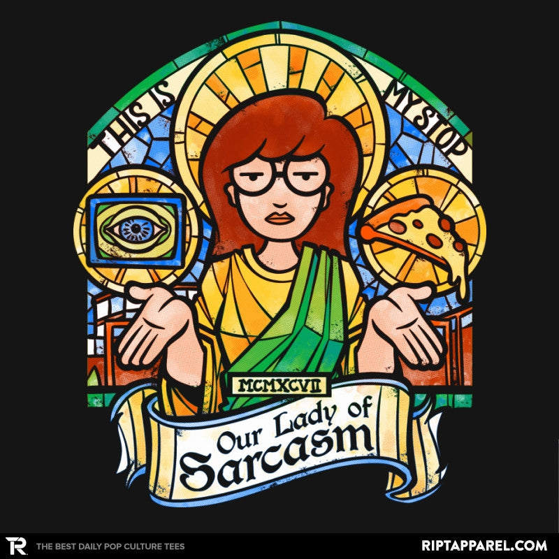 Our Lady of Sarcasm Reprint - RIPT Apparel
