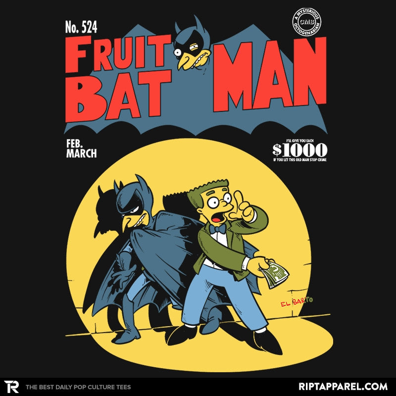 Fruitbat Man Exclusive - Collection Image - RIPT Apparel