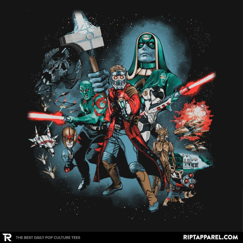 Guardians Far Away Exclusive - Awesome Mixtees - RIPT Apparel