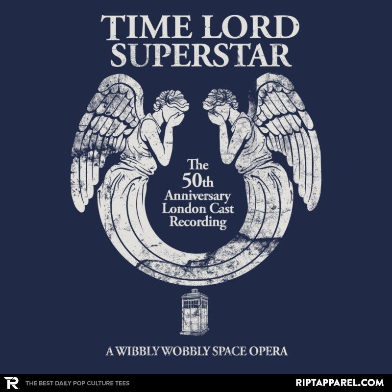 Time Lord Superstar - Record Collector - Collection Image - RIPT Apparel