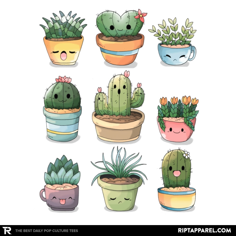 Succulents Kawaii - RIPT Apparel