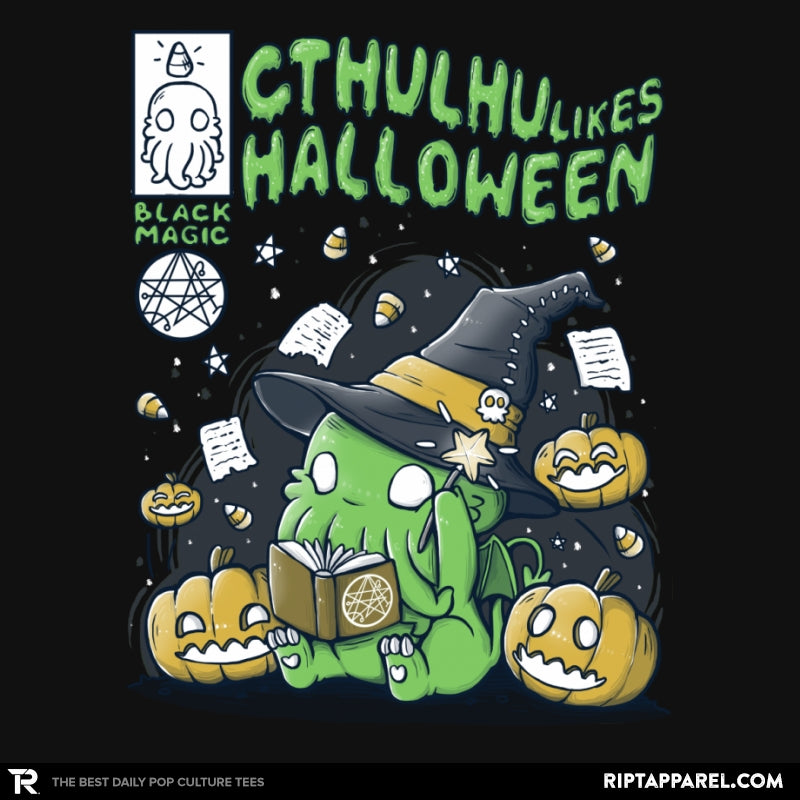 Cthulhu Likes Halloween - Anytime - Collection Image - RIPT Apparel