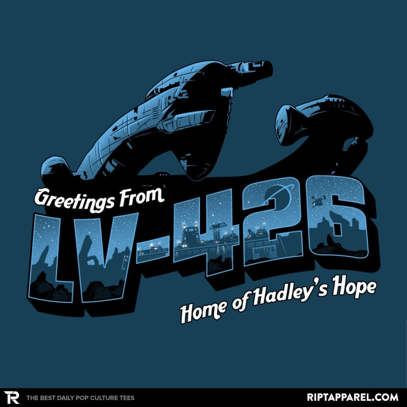 Greetings from LV-426 Exclusive - Collection Image - RIPT Apparel