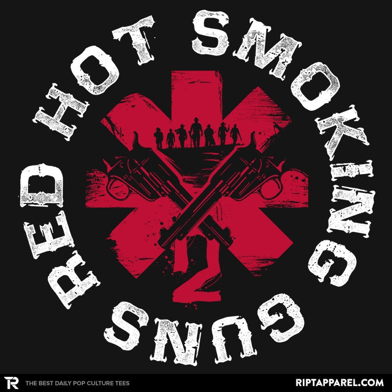 Red hot smoking guns - RIPT Apparel