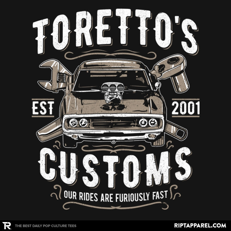 Toretto's Customs Exclusive - Collection Image - RIPT Apparel
