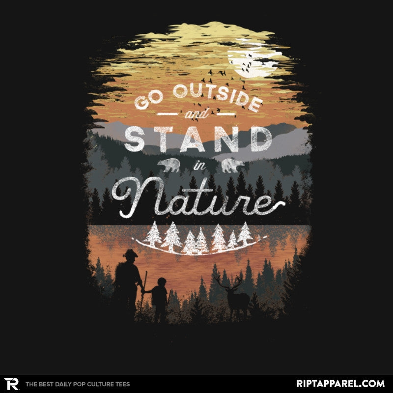Go Outside - Back to Nature - RIPT Apparel