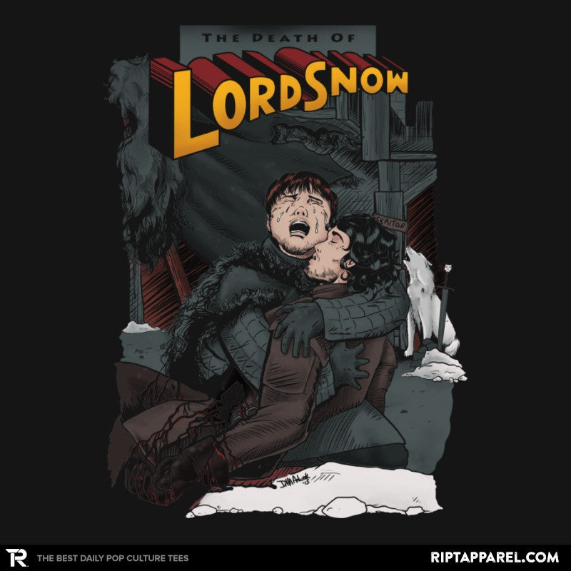 Death of Lord Snow - Game of Shirts - RIPT Apparel