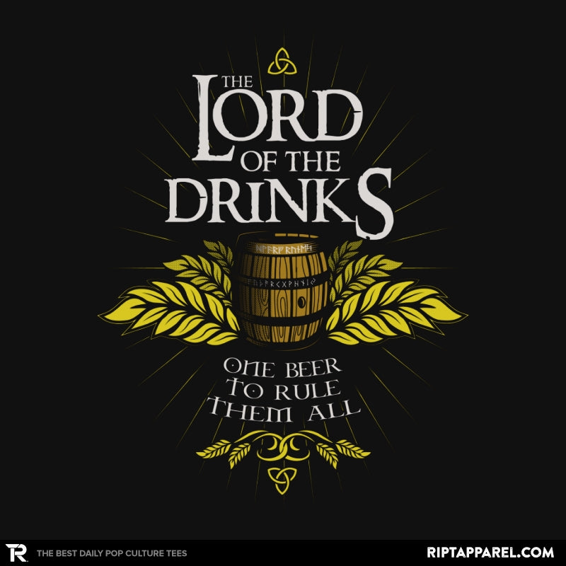 The Lord of the Drinks - Collection Image - RIPT Apparel
