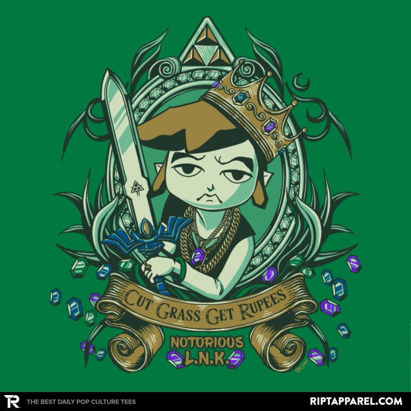 Cut Grass Get Rupees - Collection Image - RIPT Apparel