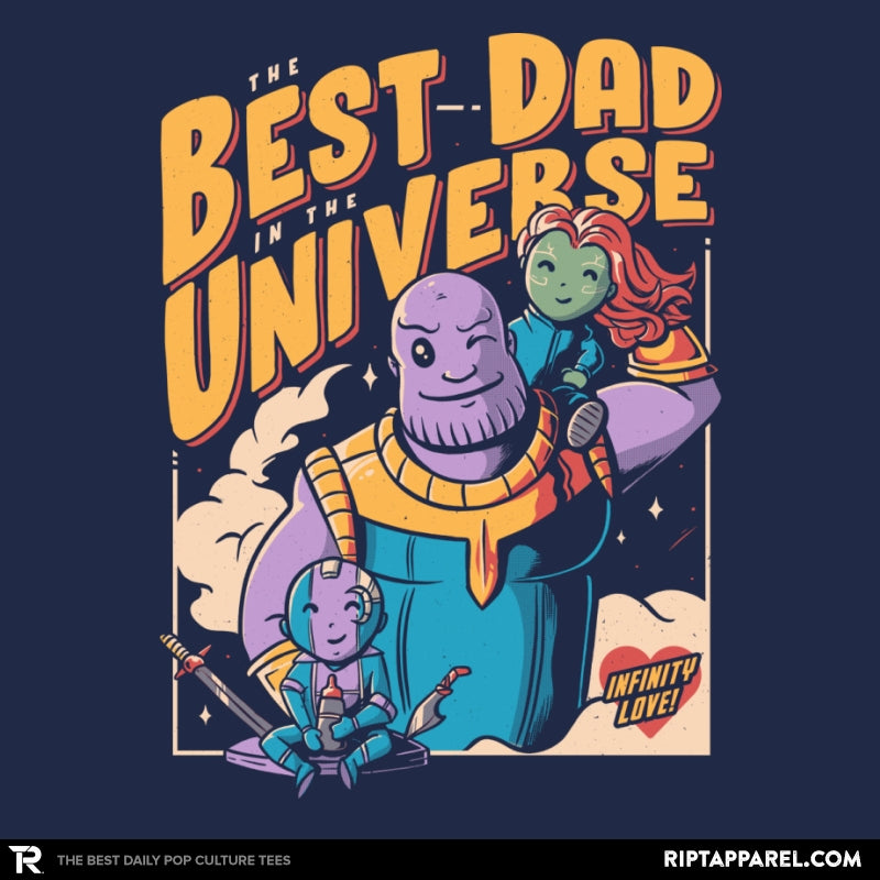 The Best Dad in the Universe - Collection Image - RIPT Apparel