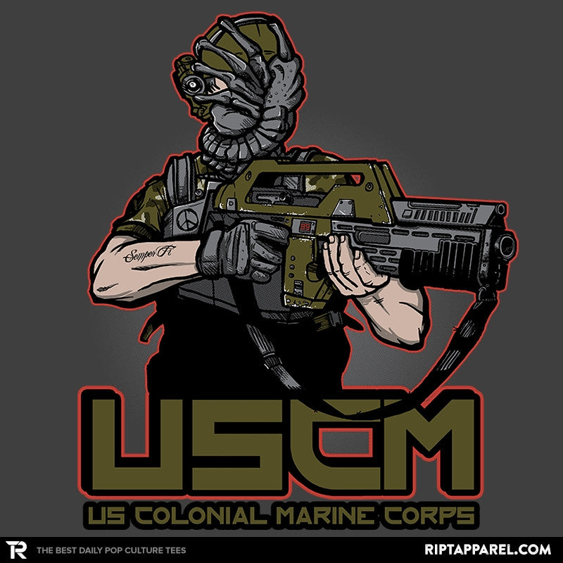 Colonial Facehugger - RIPT Apparel