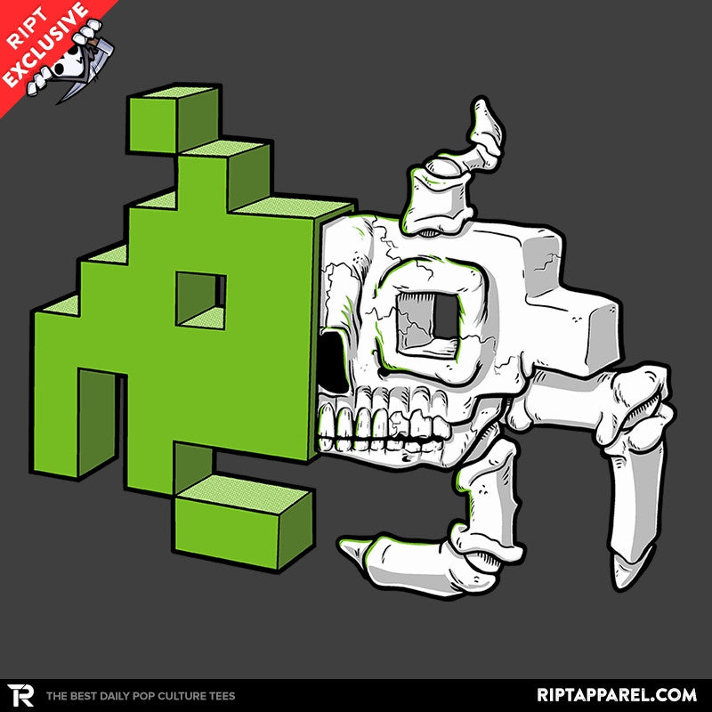Space Invader Anatomy Exclusive - Collection Image - RIPT Apparel