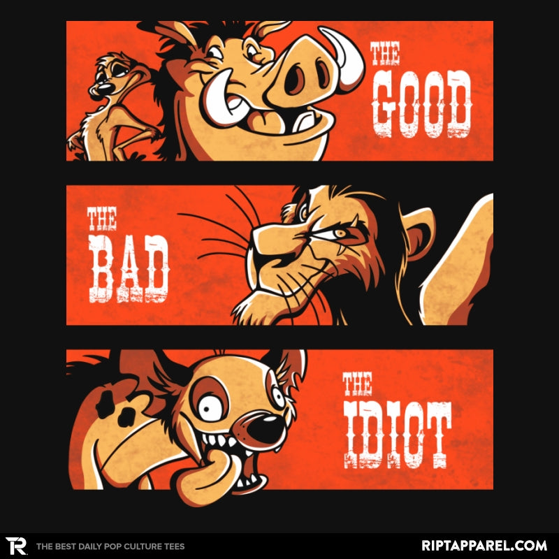 The Good The Bad And The Idiot - Collection Image - RIPT Apparel
