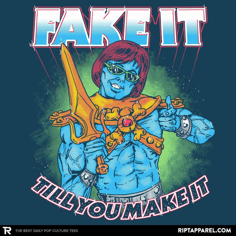Fake It - Saturday Morning Tees - RIPT Apparel