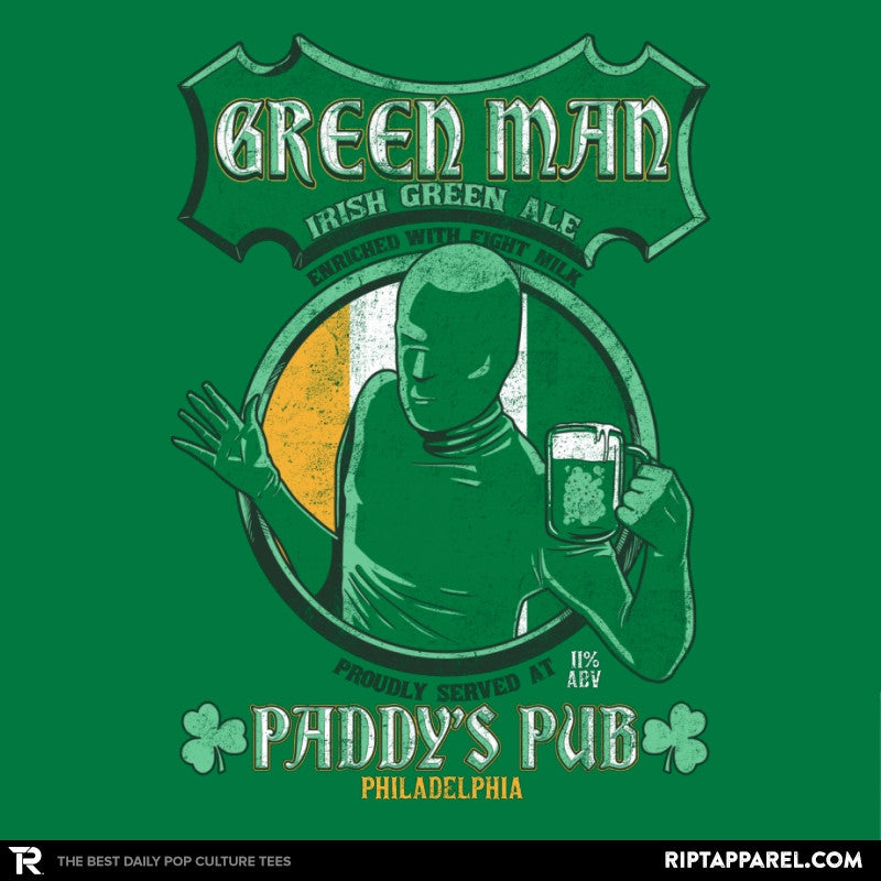 Green Man Irish Green Ale - Collection Image - RIPT Apparel
