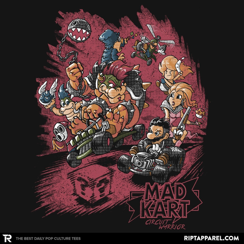 Mad Kart - Pop Impressionism - RIPT Apparel
