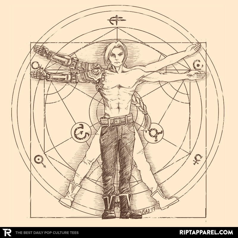 Vitruvian Alchemist - Collection Image - RIPT Apparel