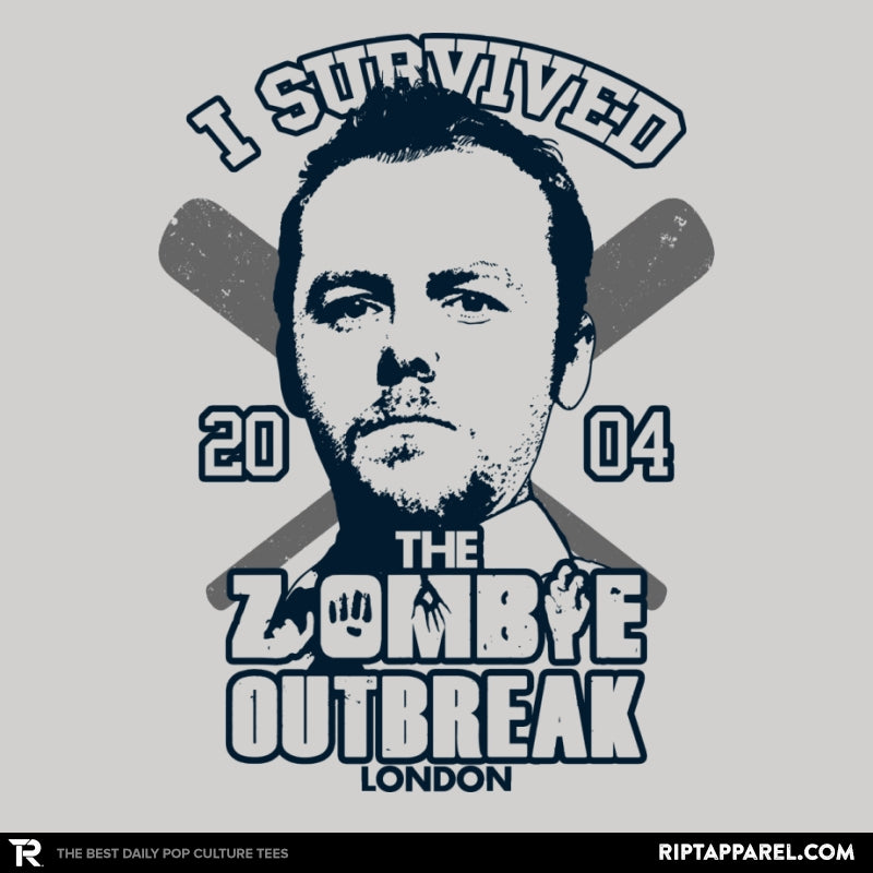 I Survived The Zombie Outbreak - Anytime - Collection Image - RIPT Apparel