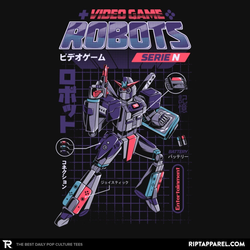 Video Game Robots - Series N - Collection Image - RIPT Apparel